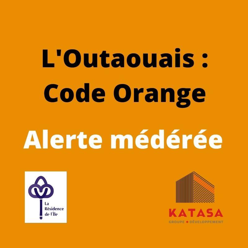 outaouais code orange Résidence de l'Ile