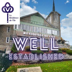 Résidence de l'Ile Well established in its community